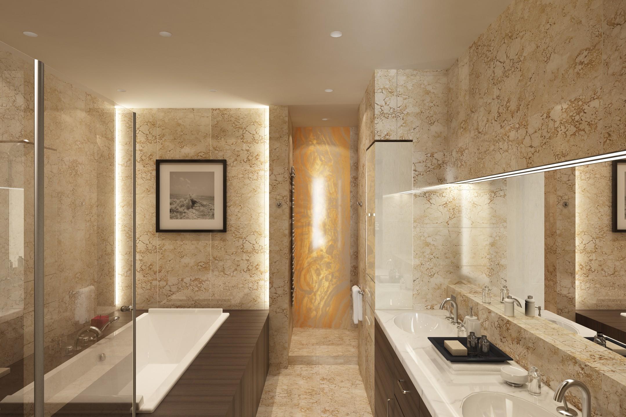 Idee Arredo Bagno Moderno. Ispirazione Per Una Stanza Da Bagno ...